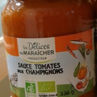 Sauce tomate aux champignons – 330g
