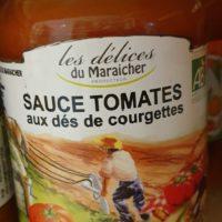 Sauce tomate aux des de courgette – 320g