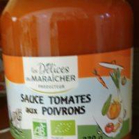 Sauce tomate aux poivrons – 330g