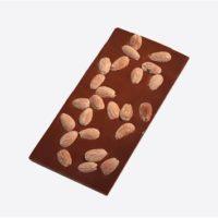Chocolat lait amandes (tablette 100g)
