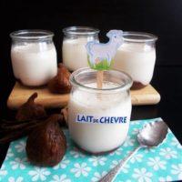 Yaourt chevre aromatise