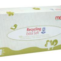 Boite mouchoirs recyclés ecocert (100)
