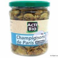 Champignons (bocal 170g net)